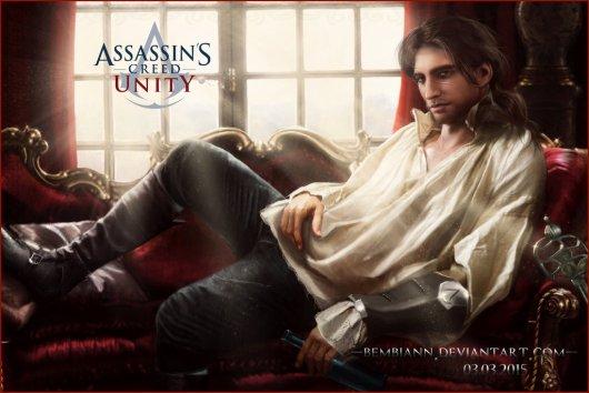 Arno - Assassins Creed Unity - Fan Art