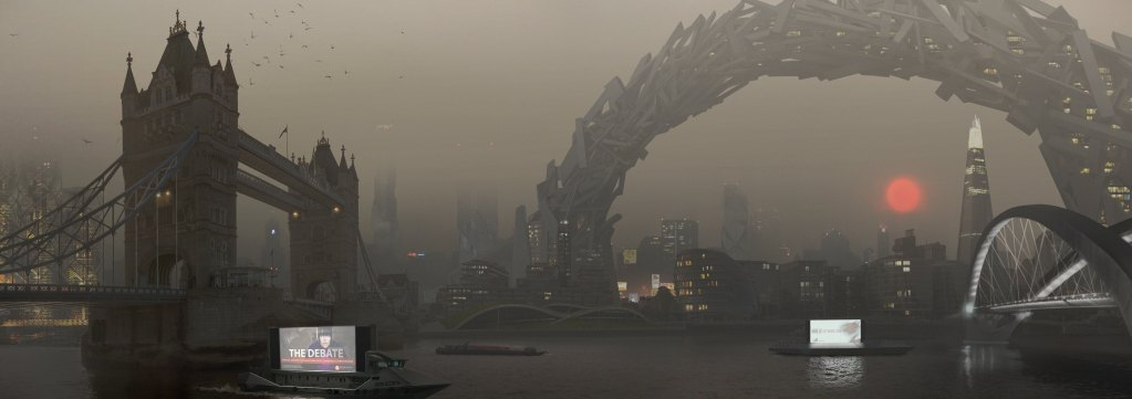 Deus Ex Mankind Divided - Concept Art