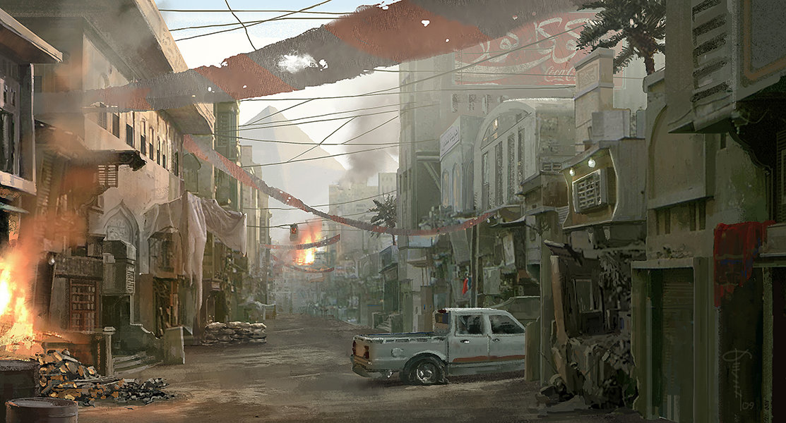 Kevin Baik - Call of Duty Concept Art