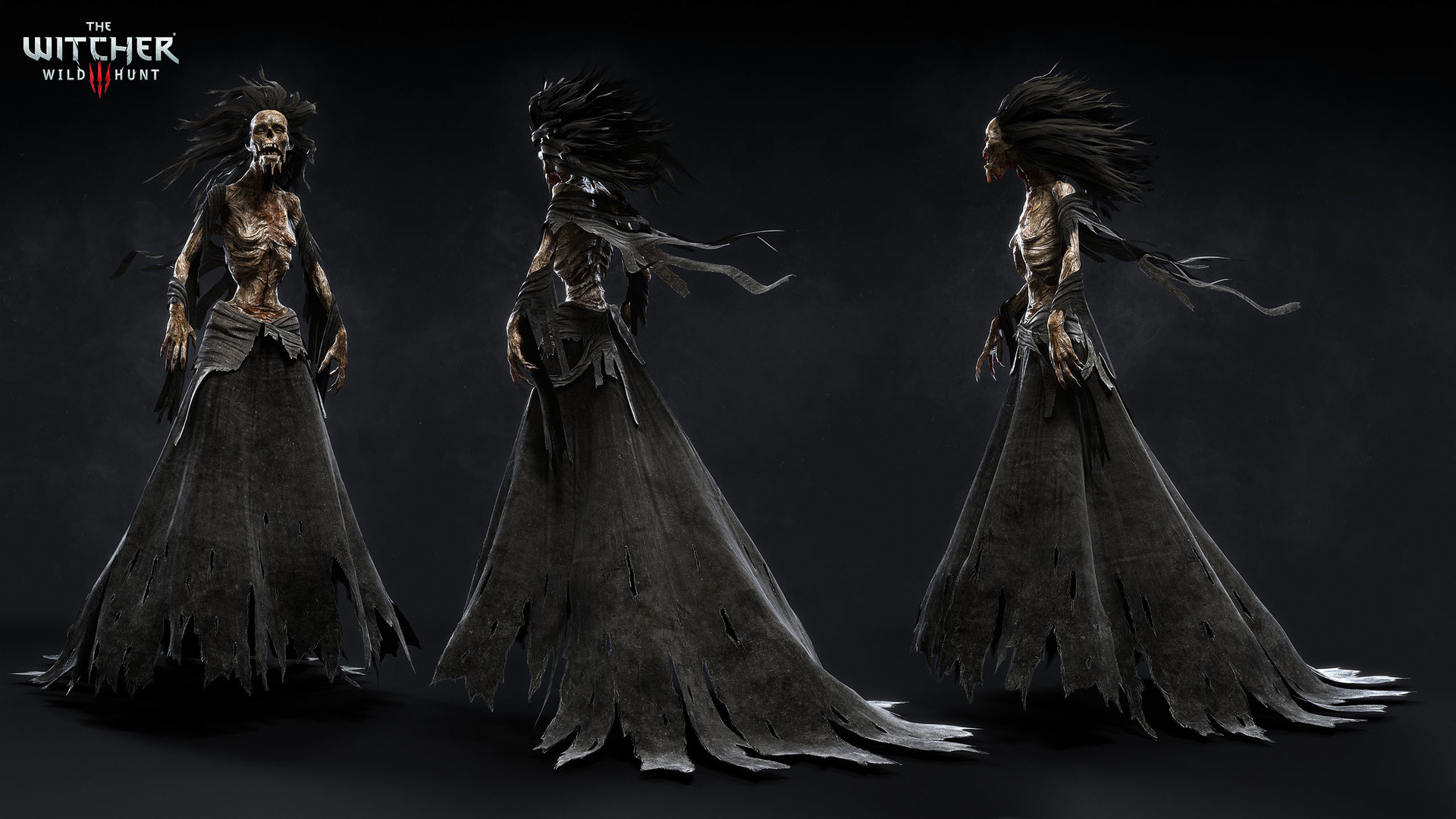 Witcher3 Character Art by Marcin Blaszczak