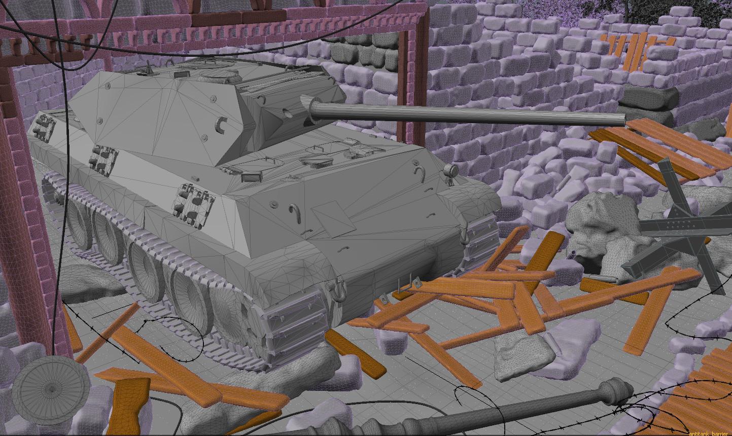 World of Tanks Artwork by Andrey Sarafanov