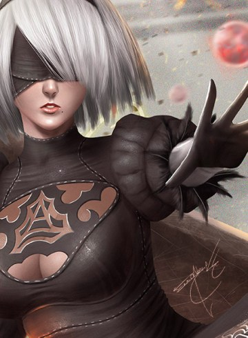Some of the best Nier Automata Fan Art