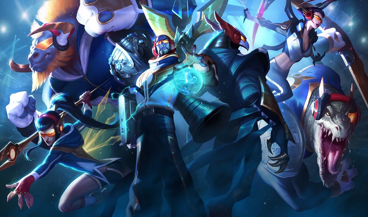 Victor Maury - League of Legends Concept Art