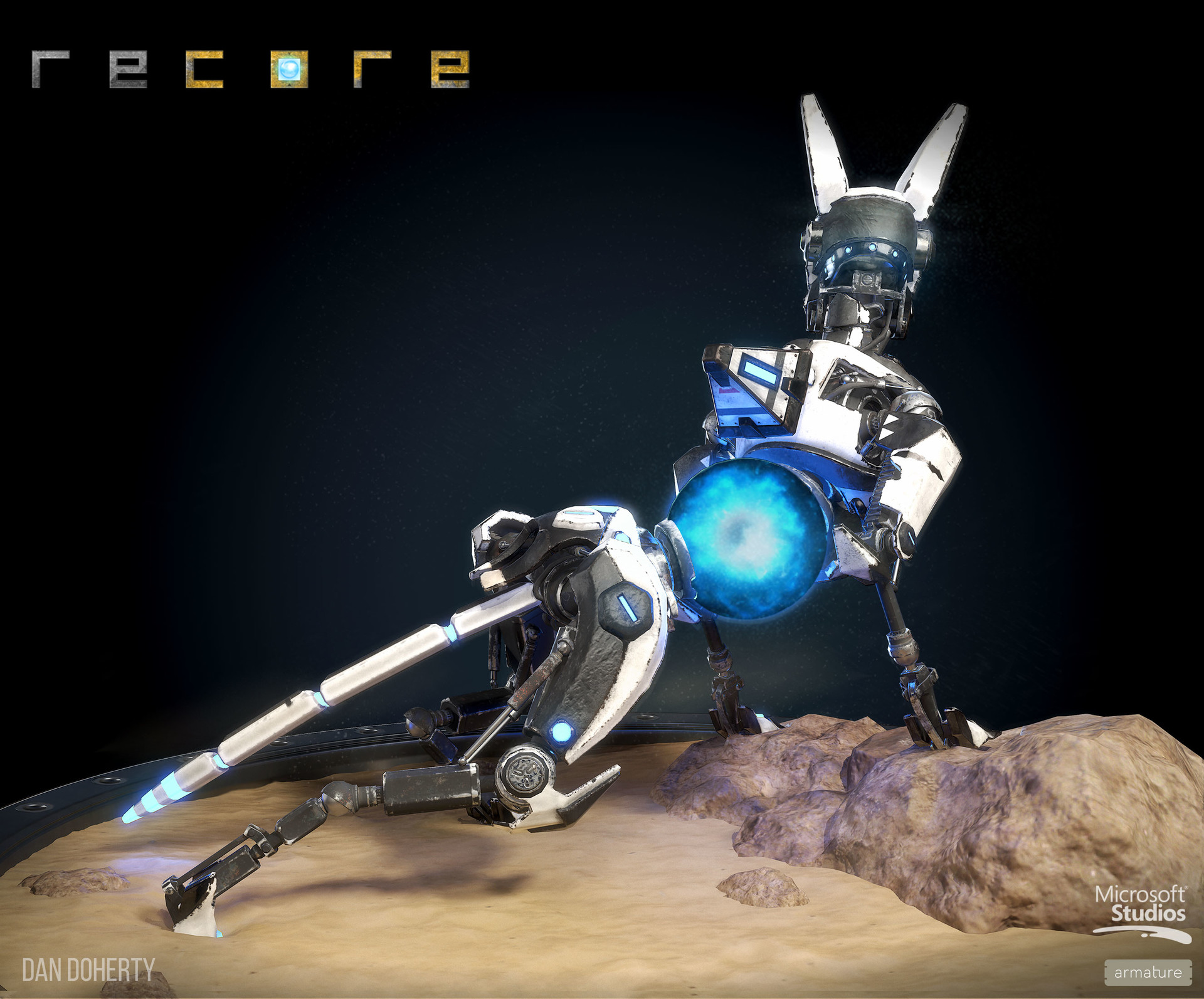 ReCore Art by Dan Doherty