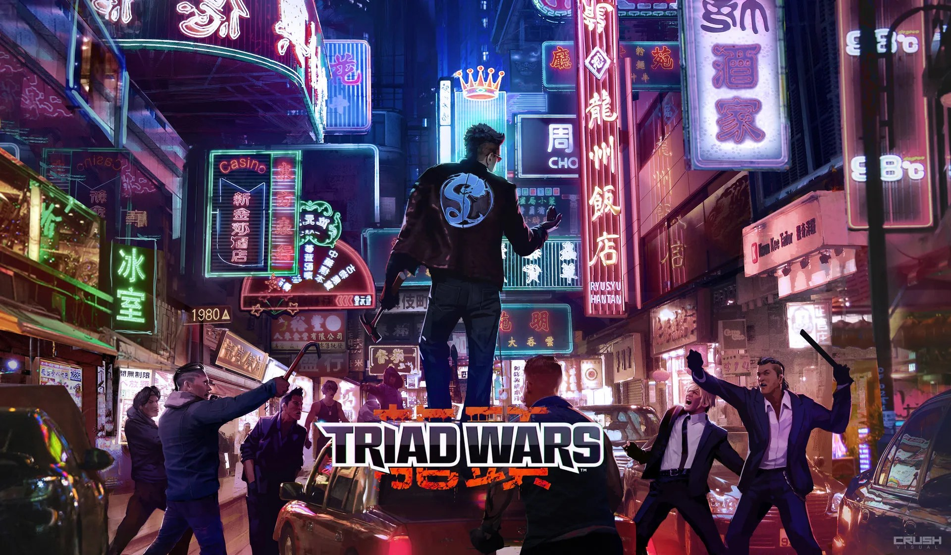 Triad Wars Concept Art by Crush Visual