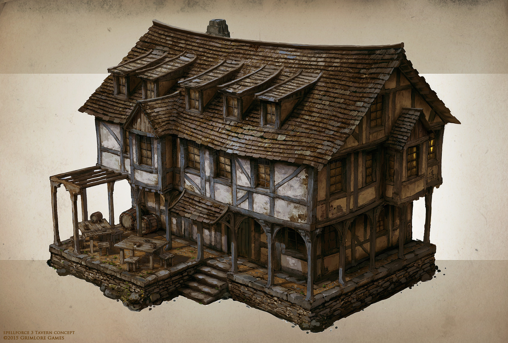 SpellForce 3 Concept Art
