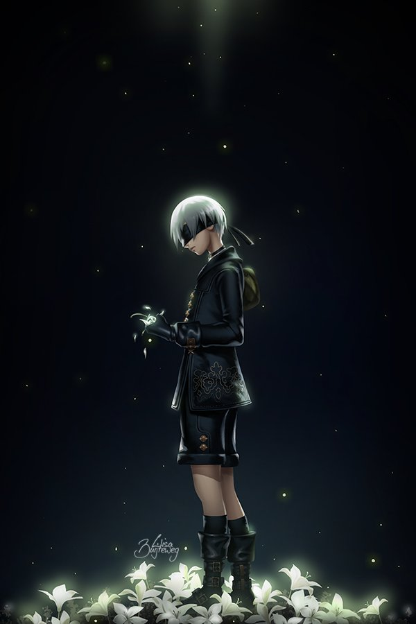 Nier Automata Fan Art