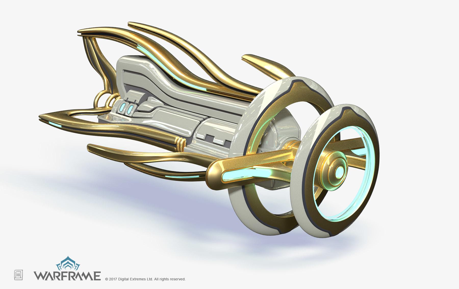 Warframe Concept Art by Zeljko Duvnjak