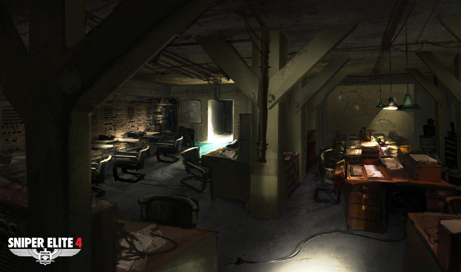Sniper Elite 4 Art by Jack Eaves