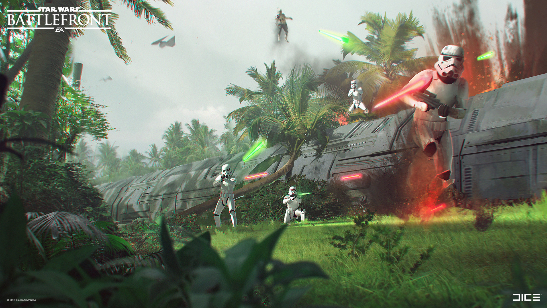 Star Wars Battlefront Rogue One Concept Art