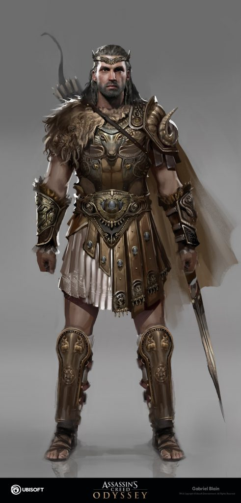 Assassin S Creed Odyssey Character Art By Gabriel Blain 208