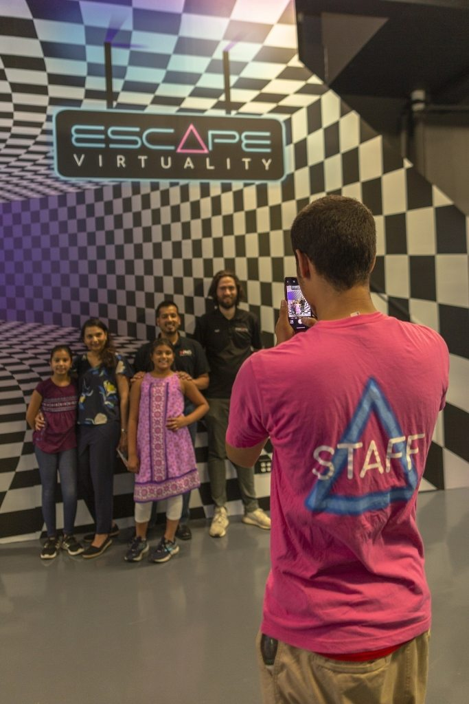 escape rooms and family gathering