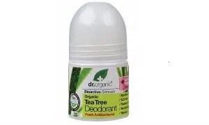 Organic Tea Tree Deodorante di Dr. Organic