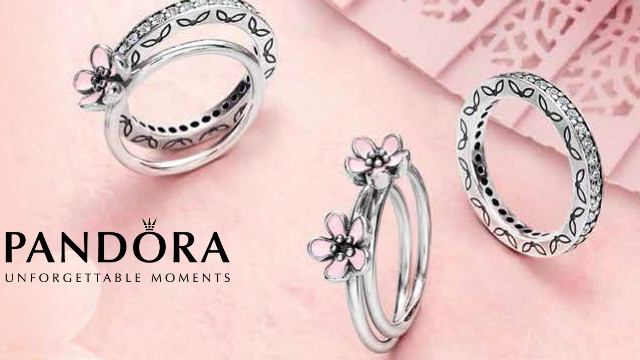 anelli personalizzabili pandora