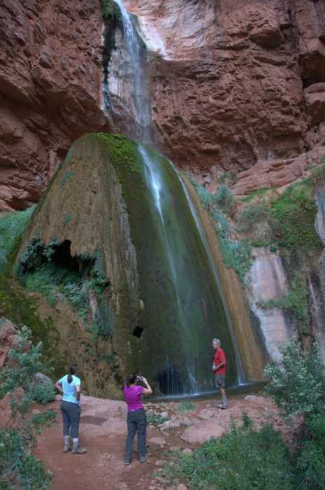 Ribbon Falls  grand canyon