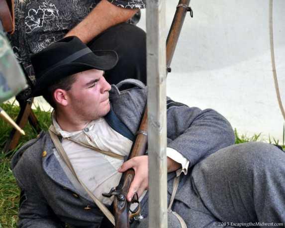 civil war reenactor