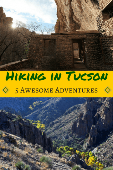 hiking Tucson adventure