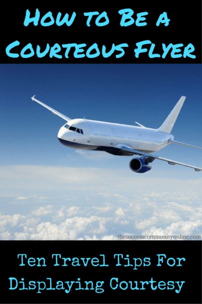 courteous flyer traveler