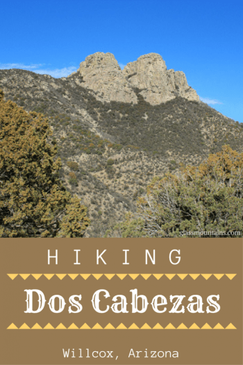 Hiking Dos Cabezas Arizona