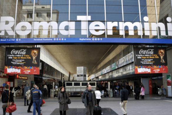 Italian train travel rome naples sorrento