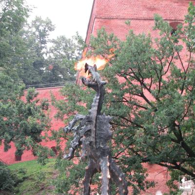 Wawel Castle, Cathedral, Wawel Dragon
