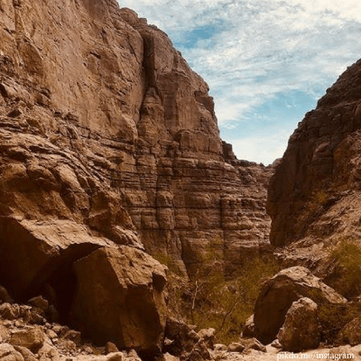 los angeles hiking trails Ladder Canyon and Big Painted Canyon