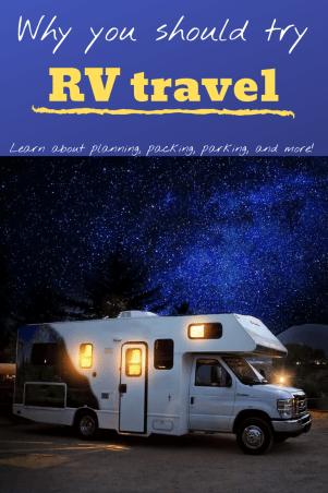 traveling by RV, stars