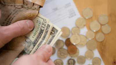 paying bills, finances, money