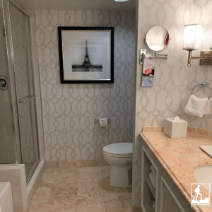 bathroom hotel and casino las vegas