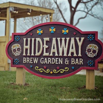 Hideaway Brew Garden & Bar Hoffman Estates beer garden