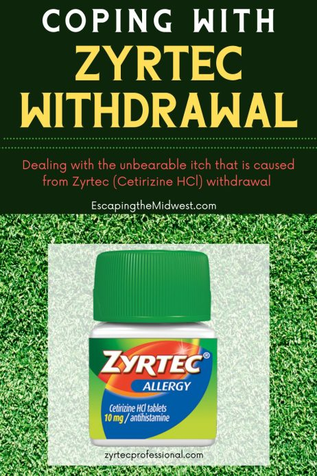 zyrtec withdrawal
