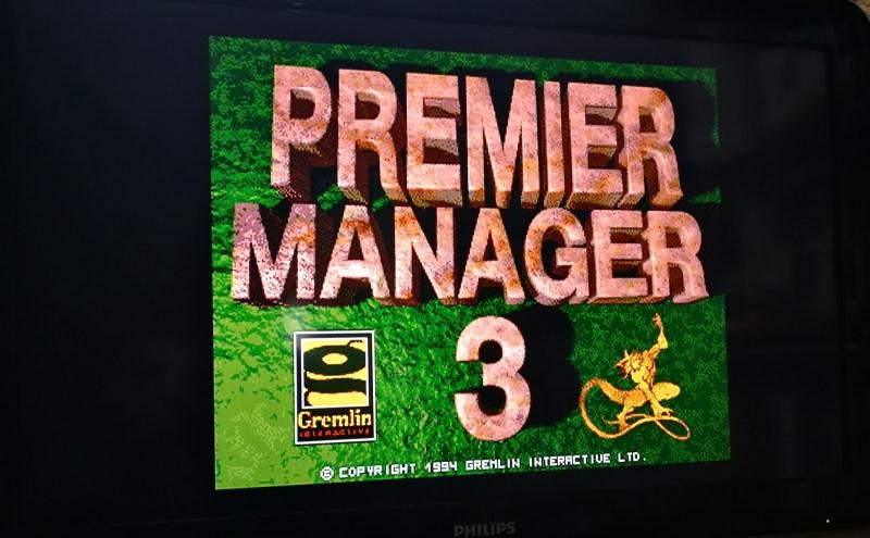 Premier Manager 3 - Amiga