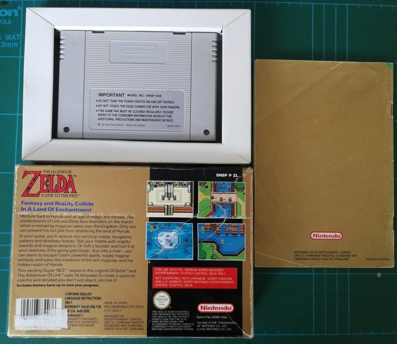 Zelda A Link To The Past - SNES