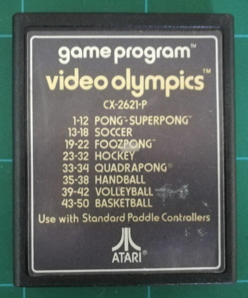 Video Olympics (Atari 2600)