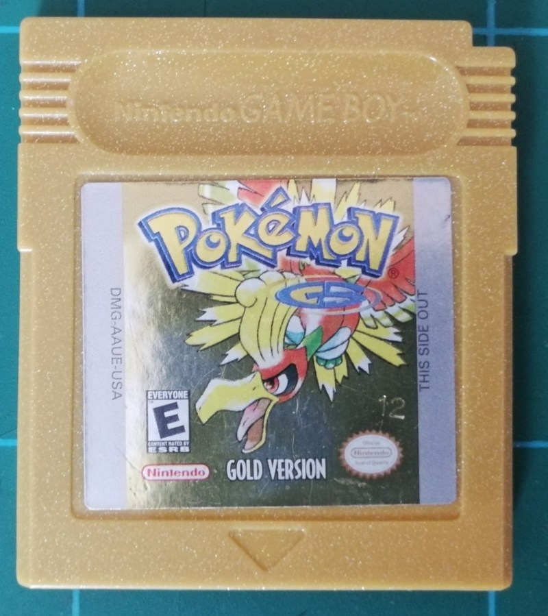 Pokémon Gold (Game Boy Color)