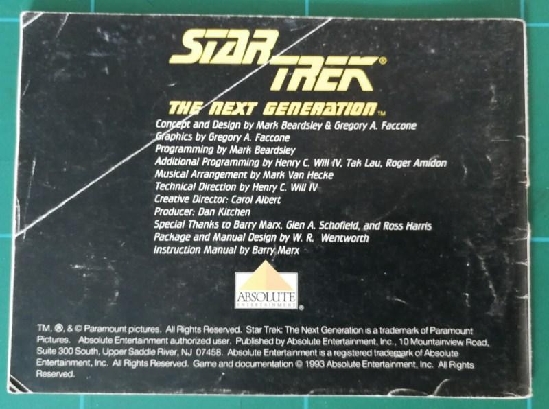 Star Trek The Next Generation (Game Boy)