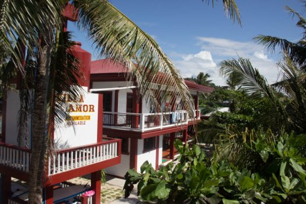 Villa Amor on Biri Island.