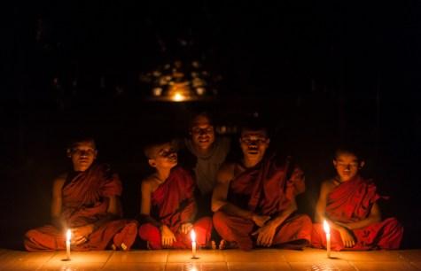 A night in a Burmese monastery