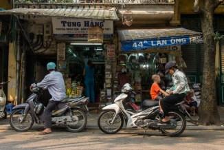 Street scene Hanoi