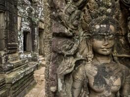 Carvings at Bayon, Angkor