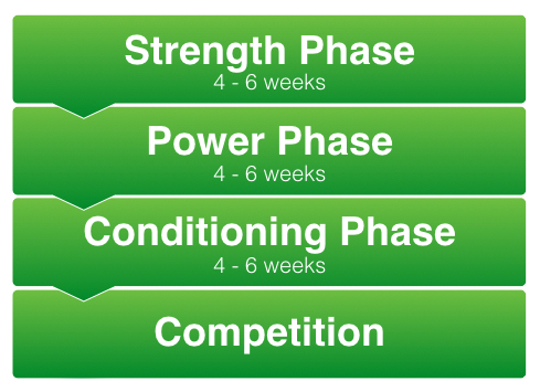 Phases Of Strength And Conditioning Programme