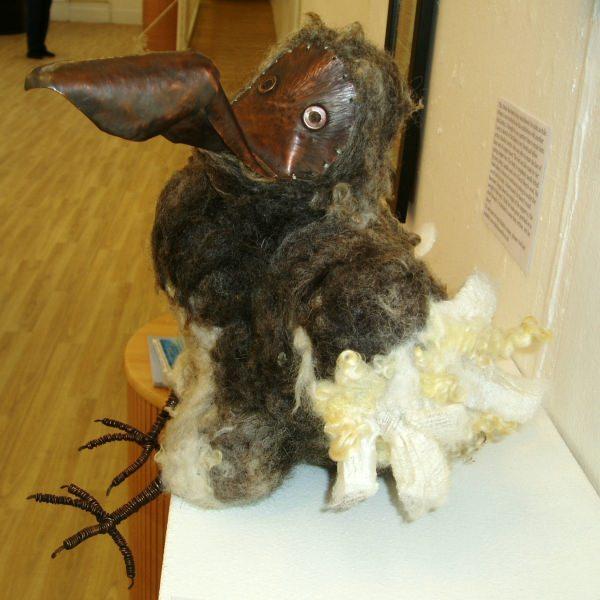 Arthur the Felt & Copper Dodo