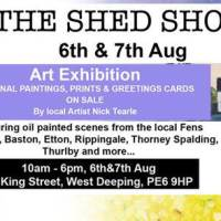 Art Exhibition - The Shed Show by Nick Tearle Fenland Artist