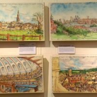 Magic Metropolis Exhibition by Karen Neale at Stamford Arts Centre