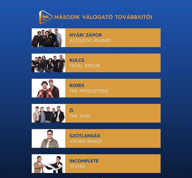 A Dal 2019 Heat2 qualifiers - Eurovision.png
