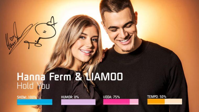 Eurovision 2019 Melodifestivalen - Hanna Ferm & Liamoo – Hold You.jpg