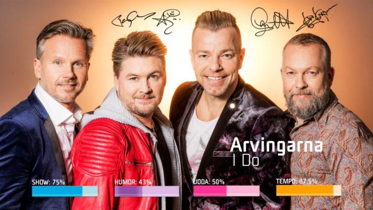 Eurovision 2019 - Sweden Melodifestivalen SF4 - 4.Arvingarna–I Do.jpg
