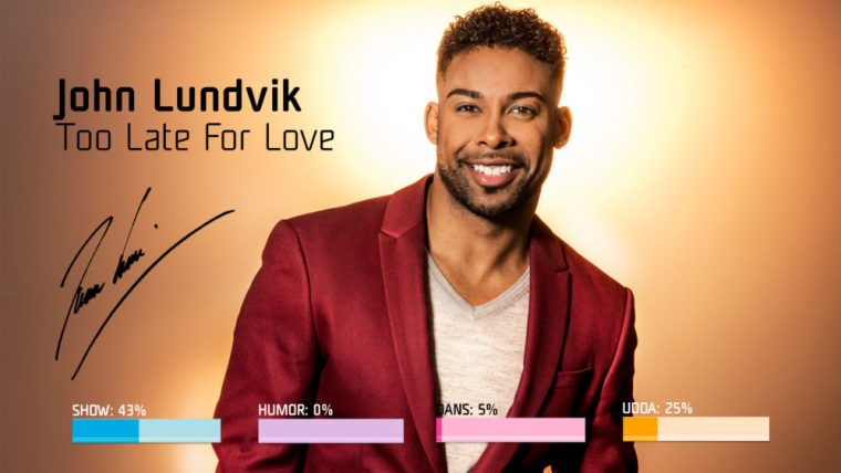 Eurovision 2019 - Sweden Melodifestivalen SF4 - 7. John Lundvik – Too Late For Love.jpg