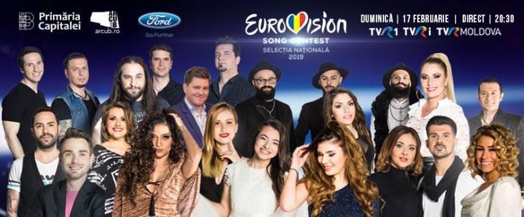 Eurovision 2019 romania Selecția Națională finalists2.jpg