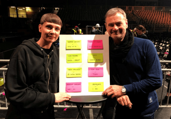 Karin Gunnarsson and Christer Bjorkman Presents Melodifestivalen 2019 Second Chance Duels.png